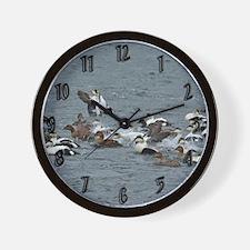 Eiders Wall Clock