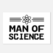 Man of science Postcards (Package of 8)