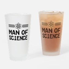 Man of science Drinking Glass