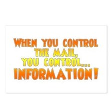 When you control the mail... Postcards (Package of