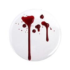 "Dripping blood 3.5"" Button"