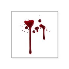 Dripping blood Sticker