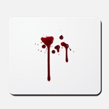 Dripping blood Mousepad