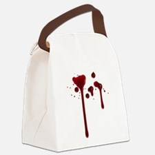 Dripping blood Canvas Lunch Bag