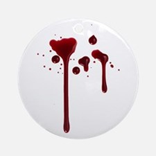 Dripping blood Ornament (Round)