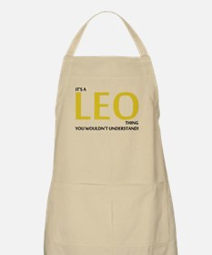 Its A LEO Thing, You Wouldnt Understand! Apron
