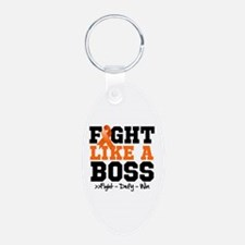 Multiple Sclerosis Fight Keychains