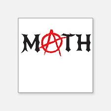 math anarchy Sticker