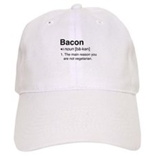 Bacon Definition Baseball Baseball Cap
