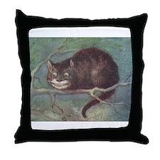 Cheshire Cat - Throw Pillow