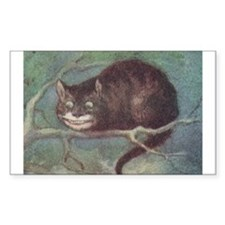 Cheshire Cat - Rectangle Decal