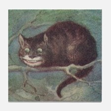 Cheshire Cat - Tile Coaster