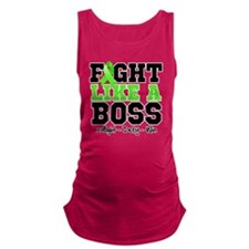 Lyme Disease Fight Maternity Tank Top