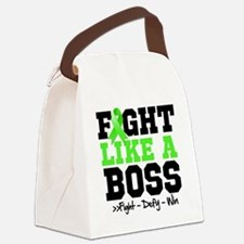 Lyme Disease Fight Canvas Lunch Bag