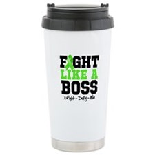 Lyme Disease Fight Travel Coffee Mug