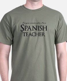 Remain Calm Spanish Teacher T-Shirt