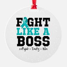 Interstitial Cystitis Fight Ornament