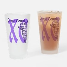 Unique Sports xc Drinking Glass