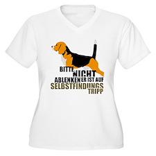Bitte nicht stören Beagle Plus Size T-Shirt