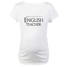 Remain Calm English Teacher Shirt