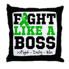 Gastroparesis Fight Throw Pillow