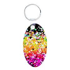 Mosaic Glitter 8 Keychains Keychains