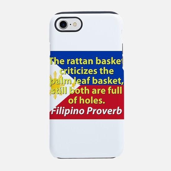 The Rattan Basket Criticizes iPhone 7 Tough Case