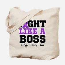 Cystic Fibrosis Fight Tote Bag