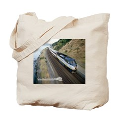 Tote Bag - Capitol Corridor Train Photo