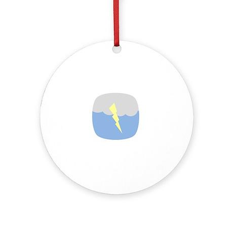 Lightning Round Ornament