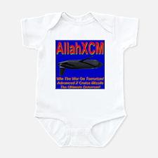 AXCM (AllahXCM) Anti-terroris Infant Bodysuit