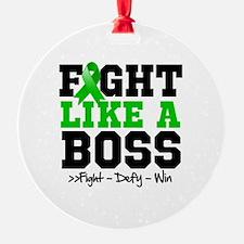 Cerebral Palsy Fight Ornament
