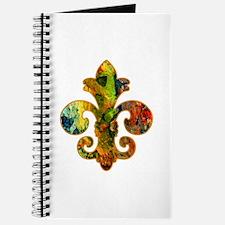Fleur de lis Faux Paint 2 Journal