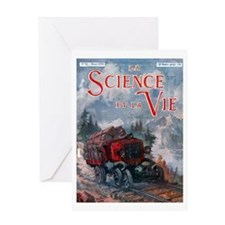 La science et la vie Greeting Cards