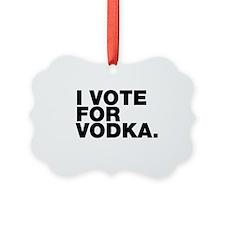 Unique Vodka humor Ornament