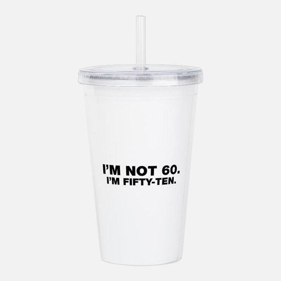 Unique Over hill Acrylic Double-wall Tumbler