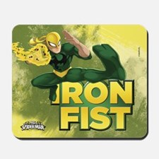 Ultimate Spider-man Iron Fist Mousepad