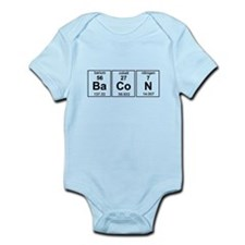 Bacon periodic table Body Suit