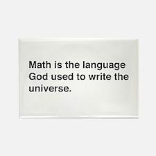 Math god universe Magnets