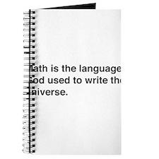 Math god universe Journal
