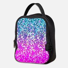 Glitter 9 Neoprene Lunch Bag