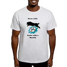 Save a Life Newfoundland Swim T-Shirt