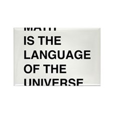 Math language of the universe Magnets