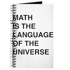 Math language of the universe Journal
