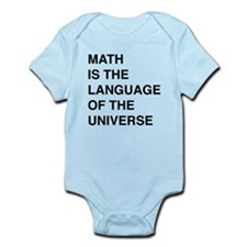 Math language of the universe Body Suit