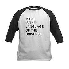 Math language of the universe Baseball Jersey