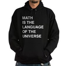 Math language of the universe Hoodie