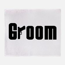Mob Groom Throw Blanket