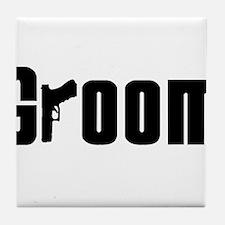 Mob Groom Tile Coaster