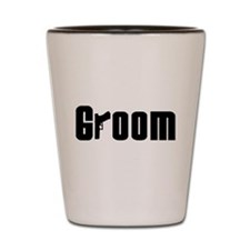 Mob Groom Shot Glass